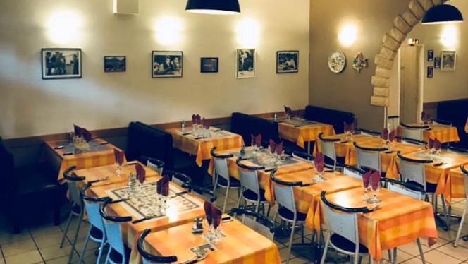 Vue de l'intérieur - Pizzeria Avarello, Lyon