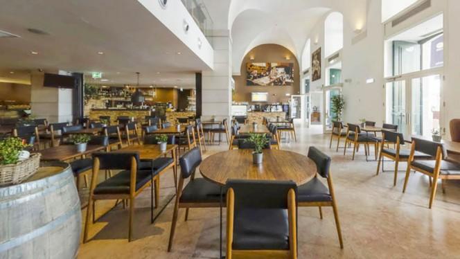 Sala do restaurante - Nosolo Italia - Praça do Comércio, Lisboa
