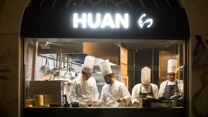 La cucina - Huan Oriental Bistrot, Milano