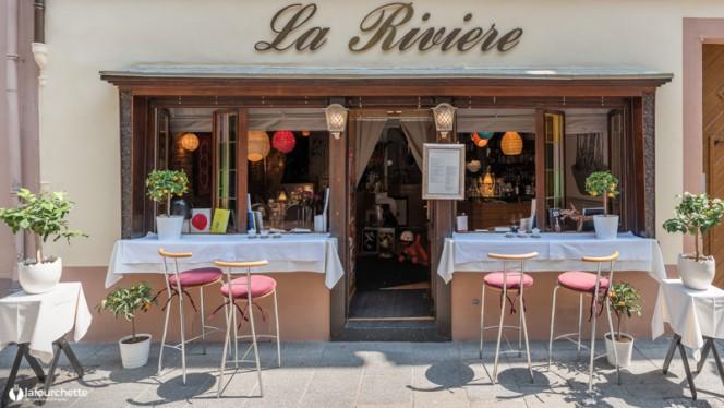 Entrée - La Rivière - Richard Meier, Strasbourg