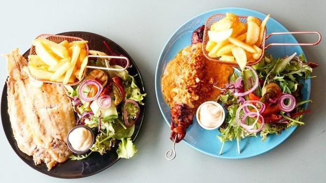 Gerechten - Lunchroom & Restaurant Op de Hoek, Den Haag
