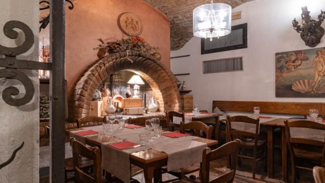 Vista sala - La Taverna di Roberto, Bologna