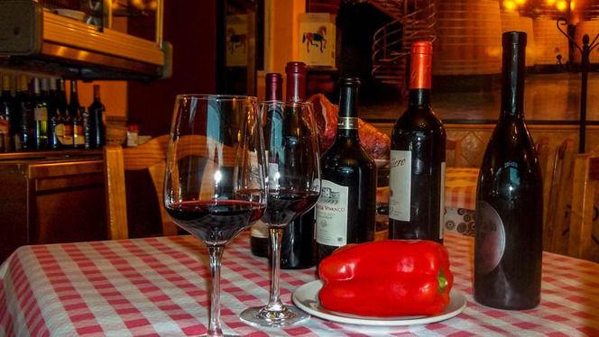 Detalle mesa - Casa Gallardo, Madrid