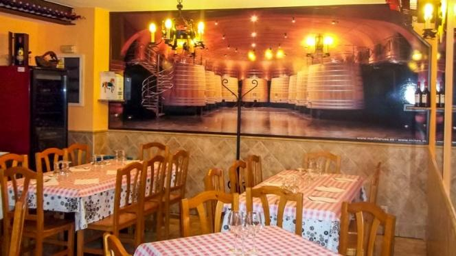 Vista comedor - Casa Gallardo, Madrid