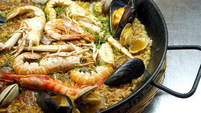Paella de marisco - Ajoblanco, Barcelona