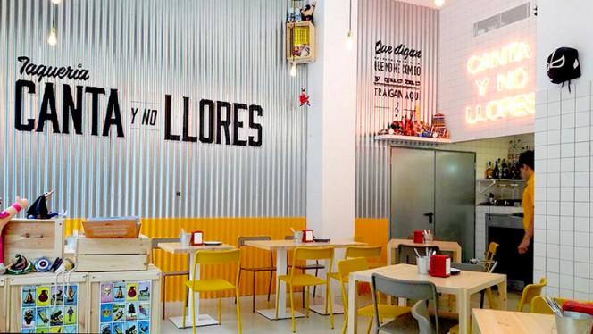 Vista sala - Canta y No Llores, Barcelona