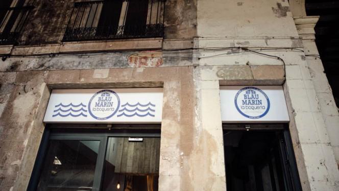 Entrada - Blau Marin - La Boqueria, Barcelona