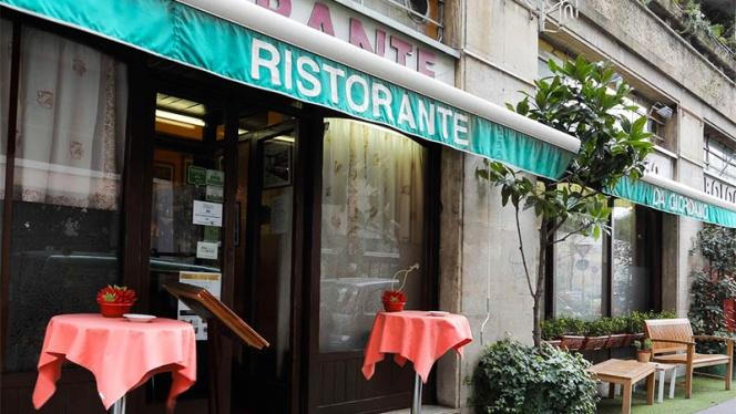 La entrata - Da Giordano il Bolognese, Milan