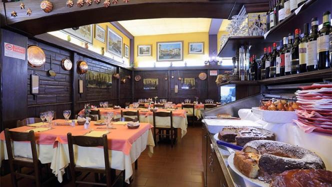 La sala - Da Giordano il Bolognese, Milan
