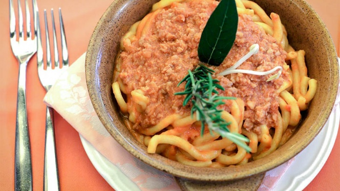 Spaghetti al ragú - Da Giordano il Bolognese, Milan