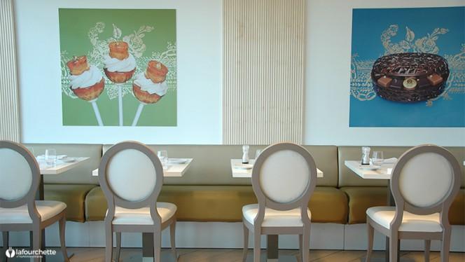 Tables dressées - Dalloyau, Marseille