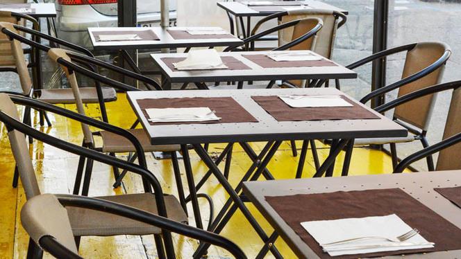 Il dehor - Pizza ad hoc, Turin