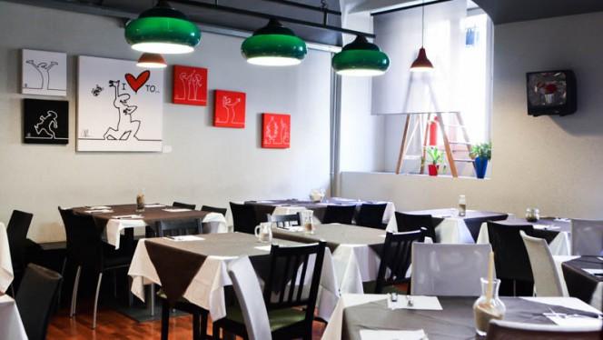 La sala - Pizza ad hoc, Turin