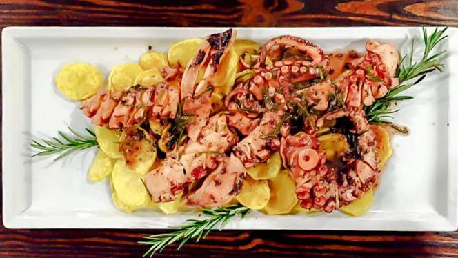 Polpo con patate - Al Borgo, Milan