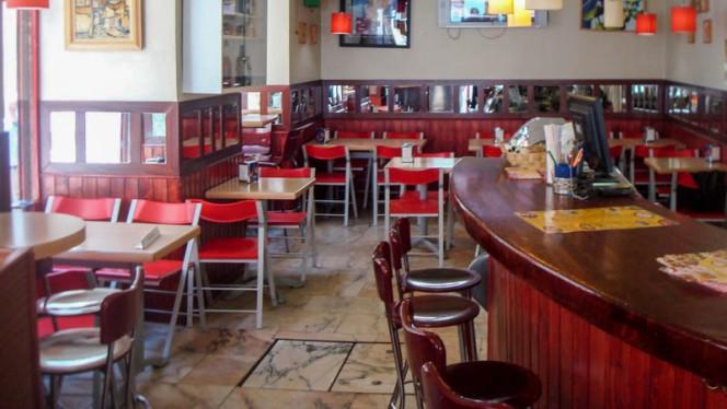 Vista de la sala - Pizzeria Della Cabeza, Madrid