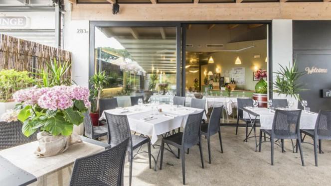 Vista della sala - Fil Restaurant, Rome