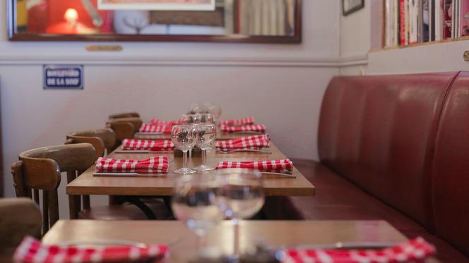 Tables dressées - L'Authentique, Paris