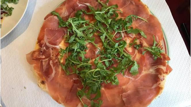 Pizza au jambon de Parme - La Scala, Strasbourg