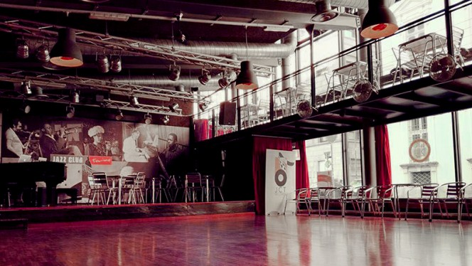 Vista sala - Jazz Club Torino, Turin