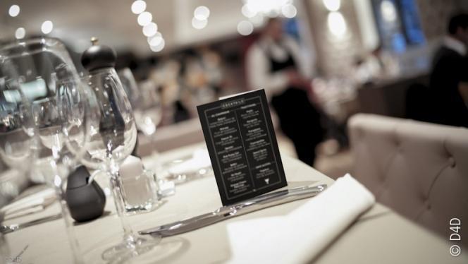 Table dressée - Minotor Steak House, Genève