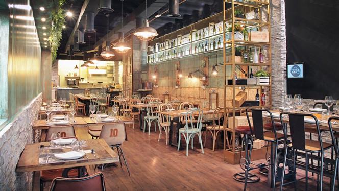 Vista de la sala - 2254 Restaurant, Barcelona