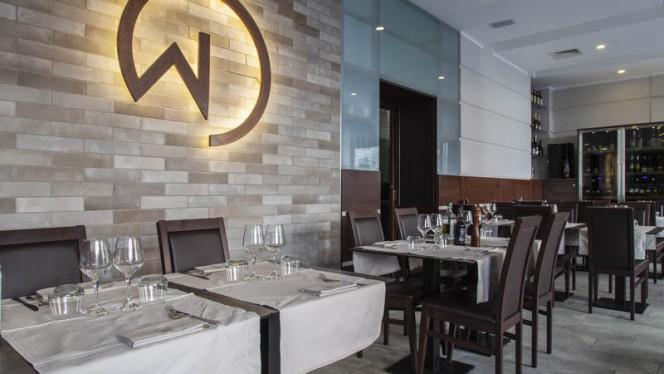 Vista sala - Wond Restaurant, Milan