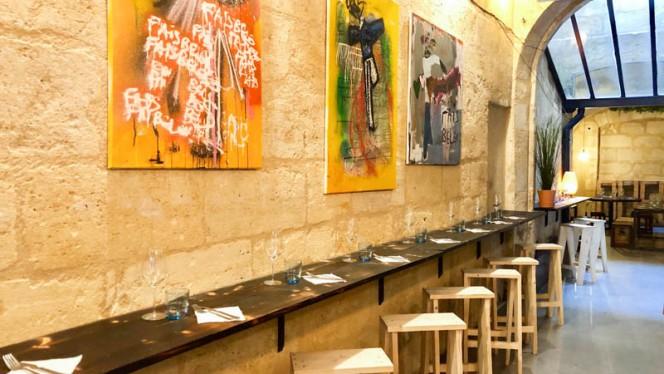 Vue de la salle - L'Ouest, Bordeaux