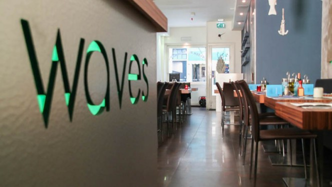 Het restaurant - Mythos Greek Restaurant, Amsterdam