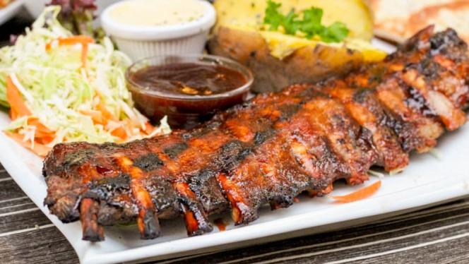 Spare ribs - Mythos Greek Restaurant, Amsterdam