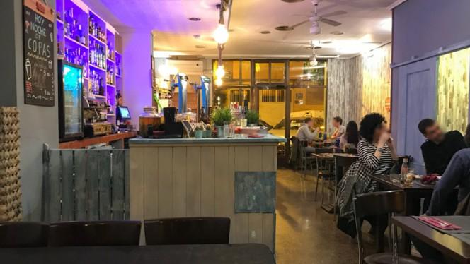 Sala del restaurante - Café Infinito, Valencia