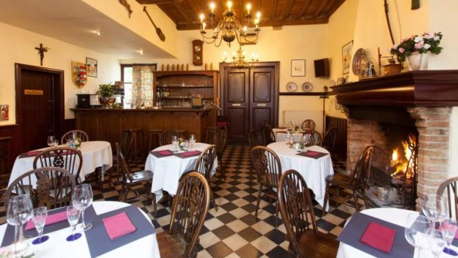 Salle du restaurant - Oud Handbogenhof, Bruges