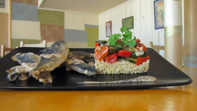 Suggestion de plat - La Table Verte de l'Ecomusee,