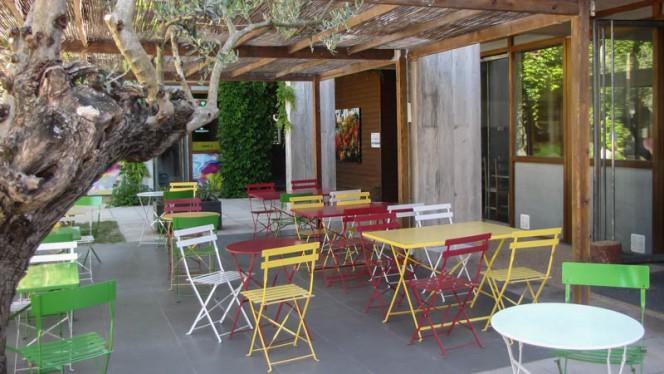 Terrasse - La Table Verte de l'Ecomusee,