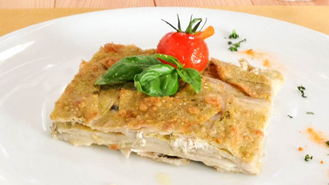 Timballo di patate e alici al pesto - A-mare Ristorante & Pizza, Viareggio