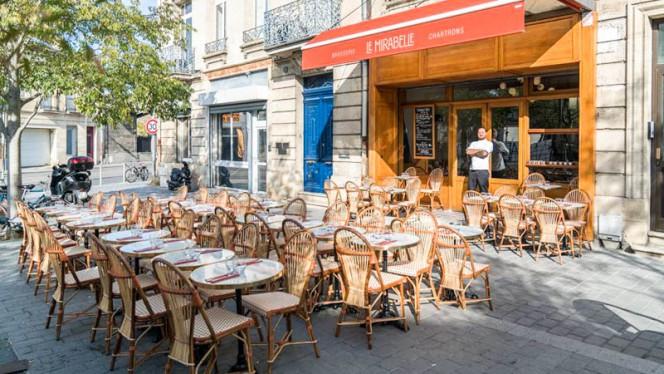 Vue terrasse - Le Mirabelle, Bordeaux