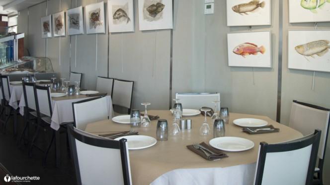 Salle du restaurant - Chez Aldo, Marseille