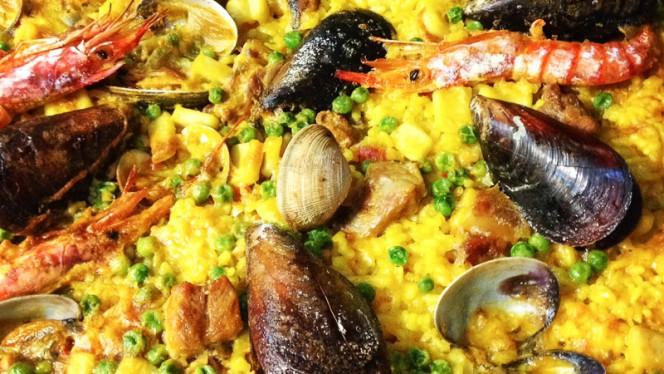 Paella de pescado - El Palau Vell, Sant Andreu De La Barca