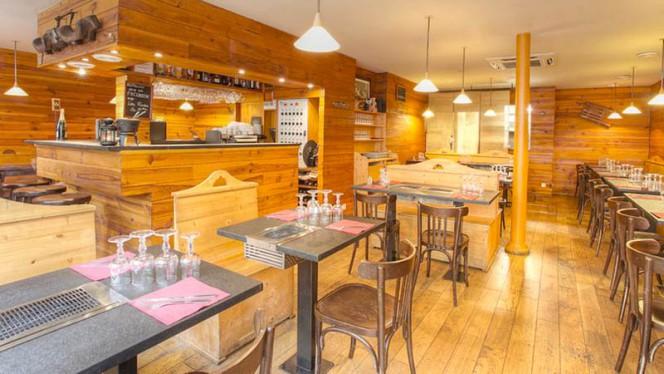 Apreçu de la salle - Les Fondus de la Raclette Parmentier, Paris