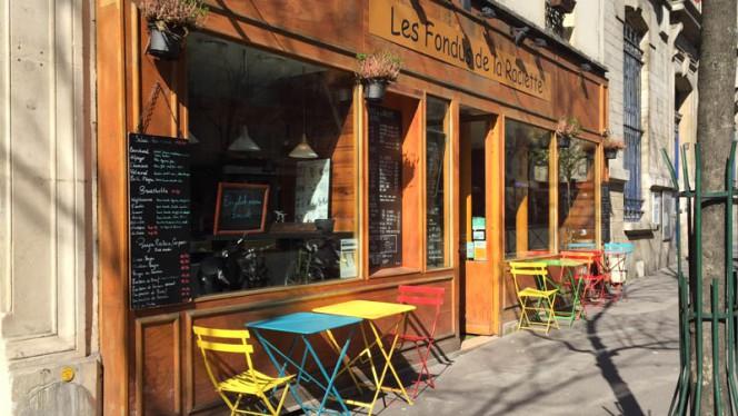 Vue de la façade - Les Fondus de la Raclette Parmentier, Paris