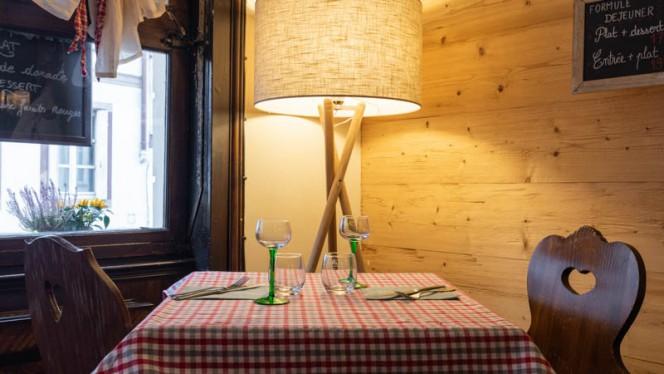 Vue de la salle - Chez l'oncle Freddy, Strasbourg
