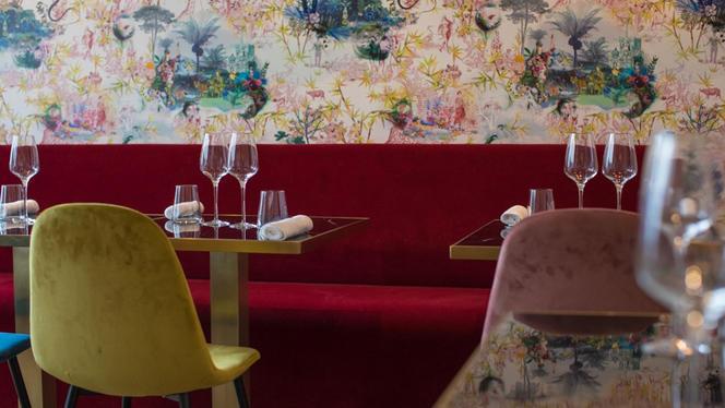 Tables dressées - Sadarnac, Paris