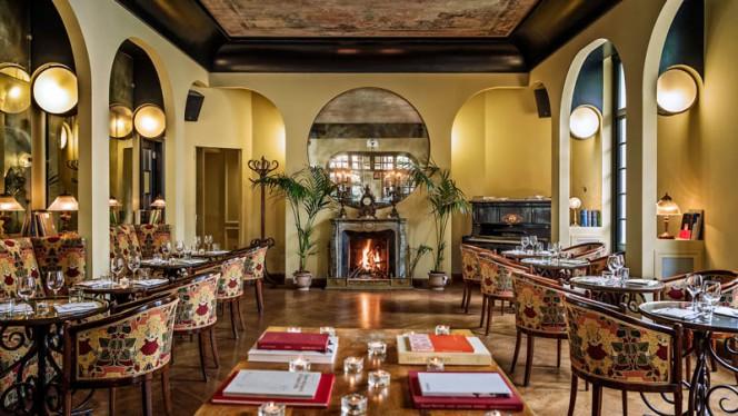 Veduta dell interno - Locarno Bar, Rome