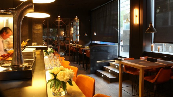Sala del restaurante - Pancomido, Barcelona
