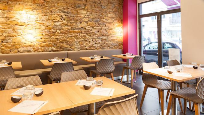 Salle de restauration - Mika Sushi Brotteaux, Lyon