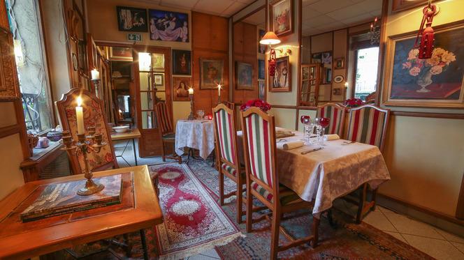 Aperçu de l'intérieur - Hôtel Restaurant La Villa Toscane, Paris