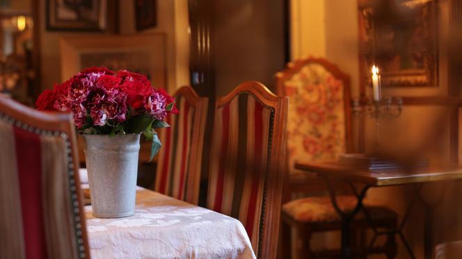 Détail de déco - Hôtel Restaurant La Villa Toscane, Paris