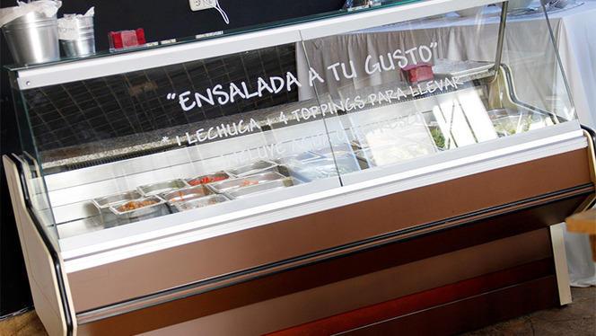 Detalle ensaladas - Obico, Madrid