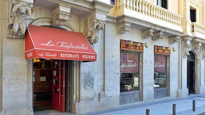 Vista Entrada - La Tagliatella Barquillo, Madrid