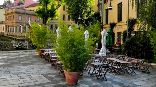 terrazza - Carlsberg Ol, Milan