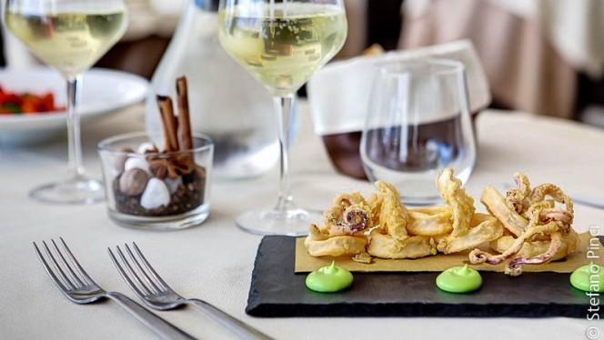 Calamari fritti con maionese al Wasabi - iH Gusto, Rome